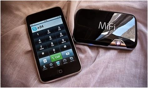modem 3g: Routeur Wifi + iPod Touch = iPhone