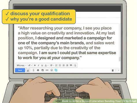 Easy Ways to Write a Subject Line when Sending Your CV by
