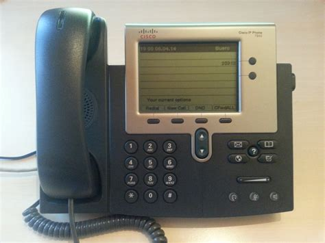 Cisco IP Phone 7942 w/ Asterisk   Hödlmosers' Hard- and
