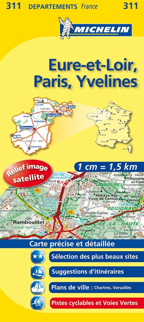 Carte pistes cyclables yvelines - 1jour1col