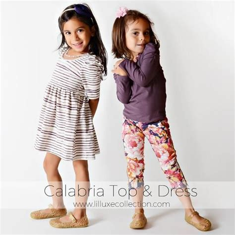 Calabria knit top and dress easy, quick, and modern sewing