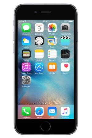 iPhone Apple IPHONE 6 128GO GRIS SIDERAL - IPHONE 6 | Darty