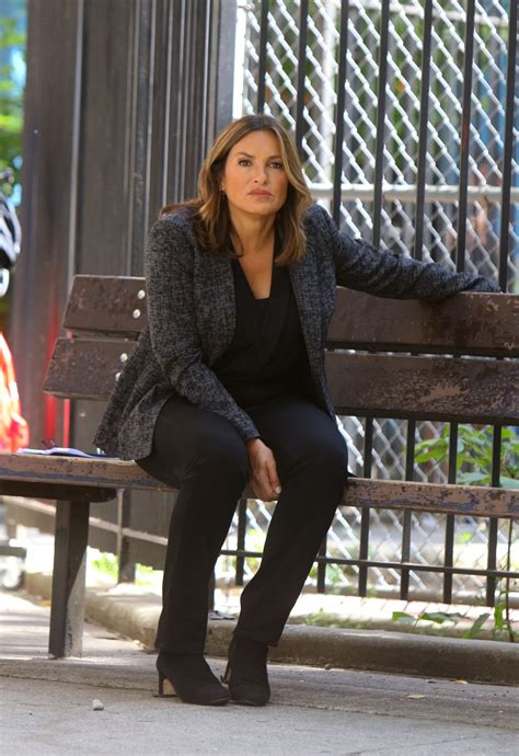 Mariska Hargitay On the set of 'Law and Order: Special