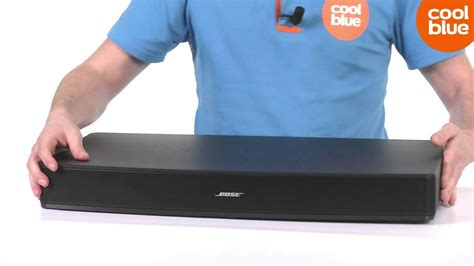 Bose Solo 15 TV Sound System productvideo (NL/BE) - YouTube