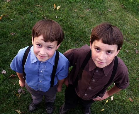 2 Amish Boys Free Stock Photo - Public Domain Pictures