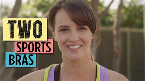 Big Boobs? Then Try Two Sports Bras! - YouTube
