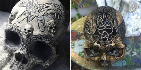 Meet The Artist Selling Real Carved Human Skulls