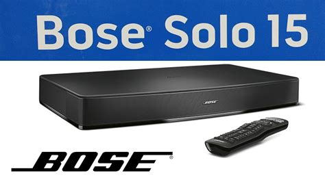 Unboxing of new BOSE SOLO 15 Speaker series II TV sound
