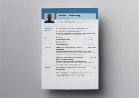 10+ Free OpenOffice Resume Templates (Also for LibreOffice)