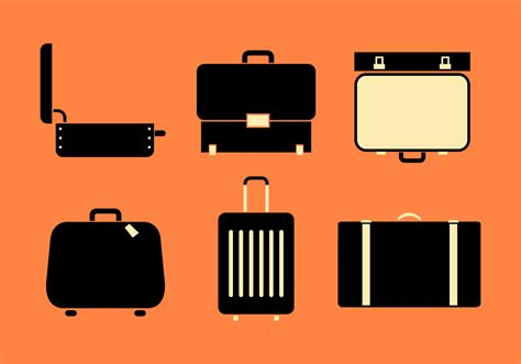 Suitcase Free Vector Art - (24,234 Free Downloads)