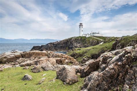 Lighthouse At Fanad Head, North Coast Of Donegal, Ireland