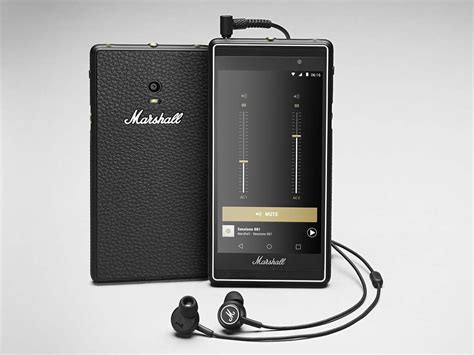 First Phone by Amp-Maker Marshall Is Made for Music