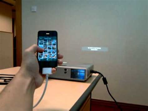 iPhone Connect to Projector - YouTube