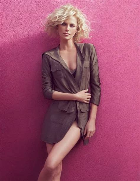Charlize Theron for Elle France July 2010