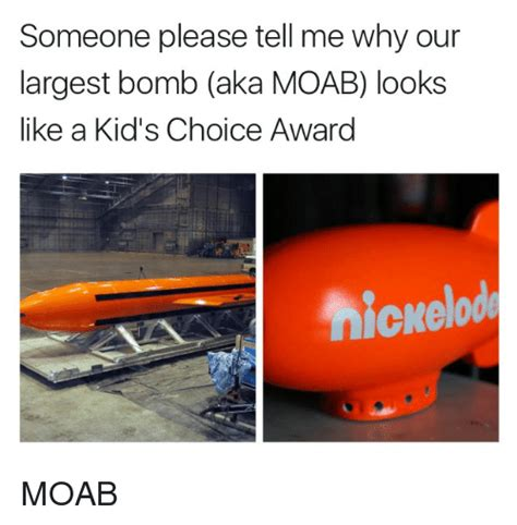 Someone Please Tell Me Why Our Largest Bomb Aka MOAB Looks
