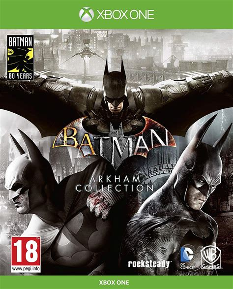 Batman Arkham Collection for PS4 and Xbox One listed on