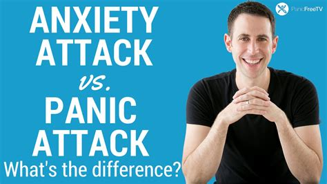 Anxiety Attack vs Panic Attack - What's The Difference