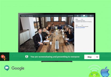 How to Share Screen on Google Meet
