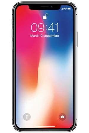 iPhone Apple IPHONE X 256 GO GRIS SIDéRAL - MQAF2ZD/A | Darty