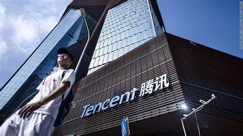 Tencent: China's biggest tech company is getting crushed