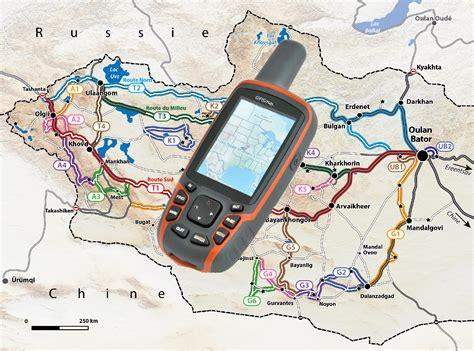 Traces GPS Mongolie – Overland Aventure