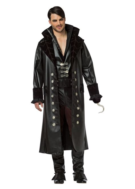 Once Upon a Time Captain Hook Mens Costume - TV Show Costumes