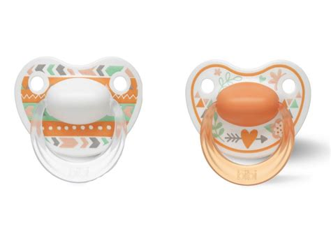 BIBI Sucette Happiness Dental 0-6 mois Ring trends duo