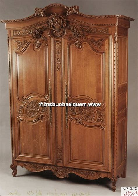Armoire Ancienne Chene Massif d'occasion