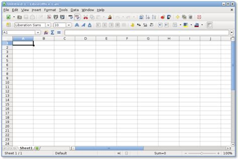 LibreOffice/Calc/Introduction, terminology and