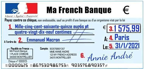 How To Write A French Bank Cheque The Right Way: video and